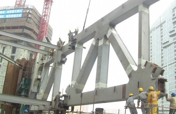 [辽宁]超高层办公楼工程钢结构安装技术详细讲解(附图丰富)