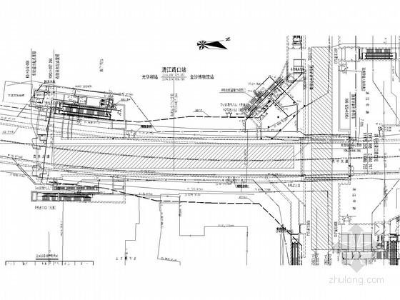 [四川]上万平地下三层岛式站台车站给排水图纸(含设计说明书)