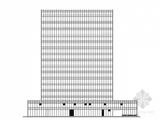 [广东]13层企业办公楼建筑施工图