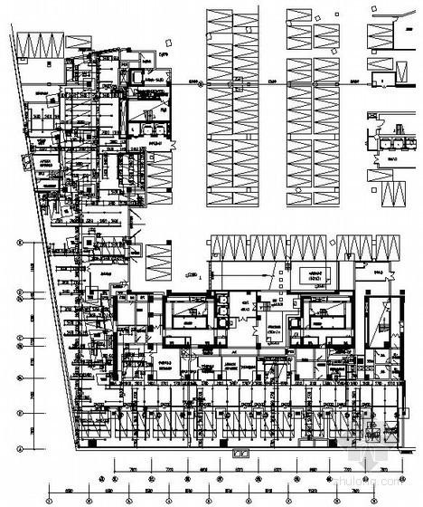 [江苏]广场防空地下室给排水消防施工图纸