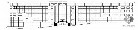 某生态休闲园综合楼建筑施工图