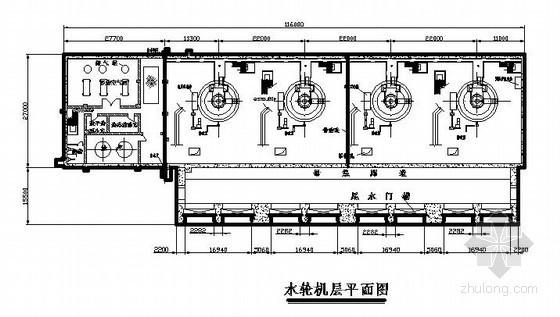 [毕业设计]水利枢纽工程下坝线右岸轴流式电站初步设计方案(含cad图)