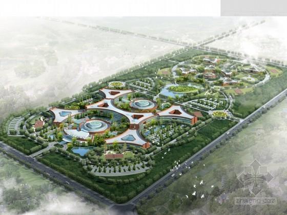 [克拉玛依市]某宾馆总体概念规划