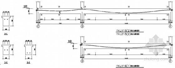 预应力框架梁节点构造详图