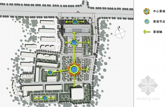 [湖北]10层现代风格生产调度通信办公楼建筑设计方案文本(知名设计院)-10层现代风格生产调度通信办公楼分析楼