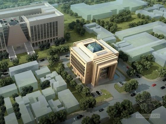 [柬埔寨]现代风格信息技术办公楼建筑设计方案文本(中国援建项目)