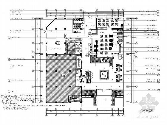 [云南]新中式特色度假国际大酒店室内设计施工图(含效果)