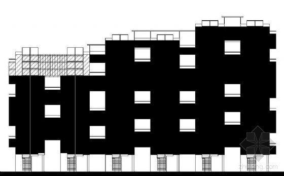 [深圳]占地17英里某区住宅建筑方案图集(CAD彩色填充)