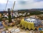 海口万达文旅城展示中心3月底可竣工开放