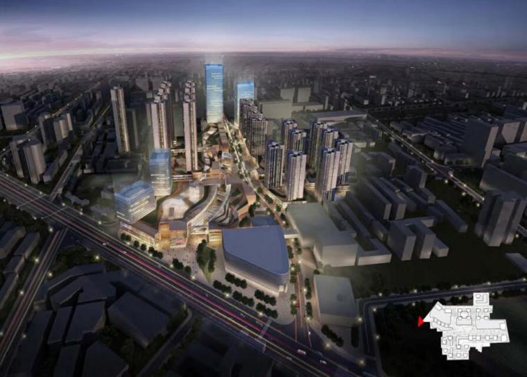 [河南]郑州金地广场旧建筑改造城市更新设计方案文本(PPT)