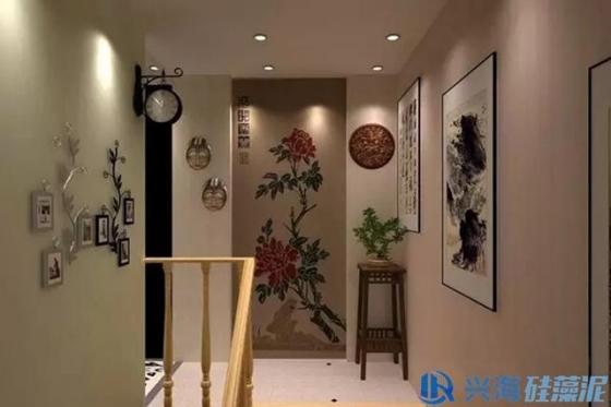 硅藻泥背景墙之中式风格系列分享图片