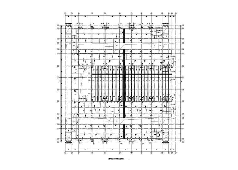 6层钢混框架大学实训楼建筑结构施工图2015