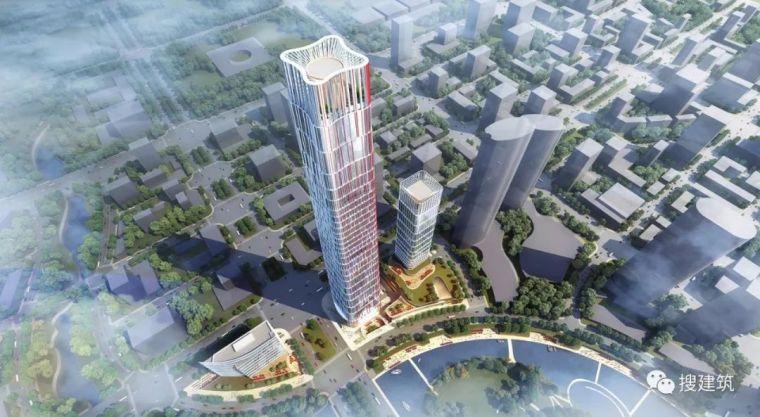"""继636米绿地中心之后,绿地投资50亿再造406米""""光谷第一高楼"""""""