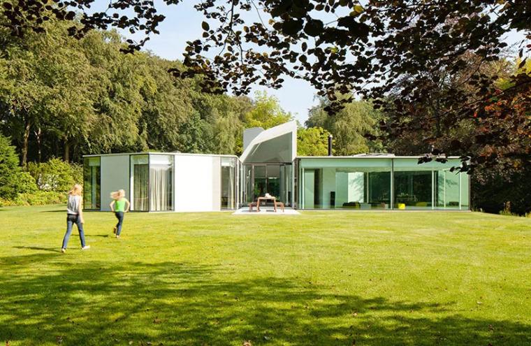 荷兰简约现代风格别墅设计