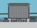 一个中式酒店设计