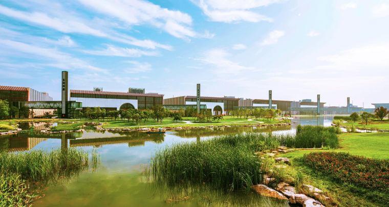 聊城东阿阿胶生物科技园景观