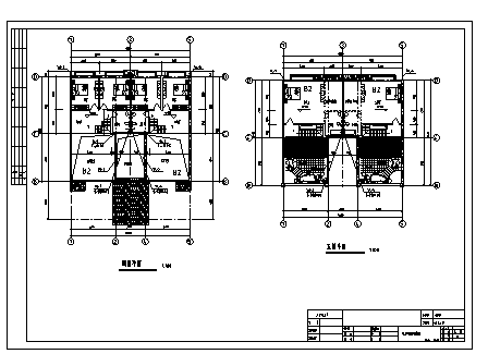10套双拼别墅给排水电气设计图(2)_3