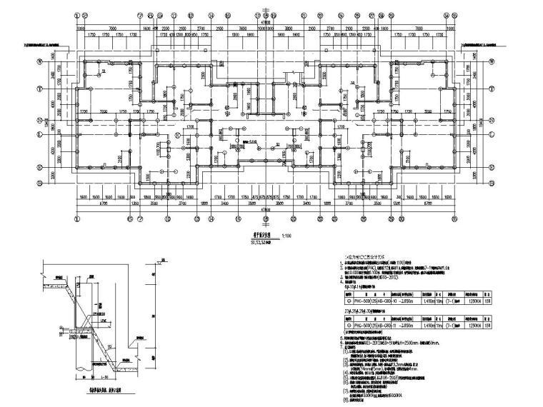 [常州]18层为现浇钢筋混凝土剪力墙结构住宅结构图