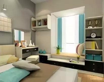 卧室惊艳地变了样还多了小资地儿,阳台飘窗改造术_4