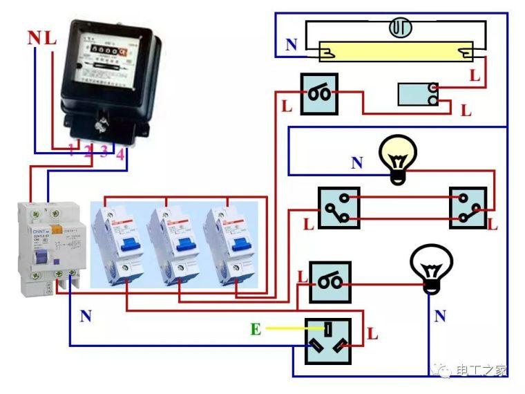 全彩图深度详解照明电路和家用线路_49