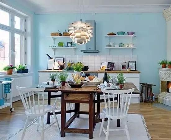 小户型装修必看,现代简约风格家装小厨房设计