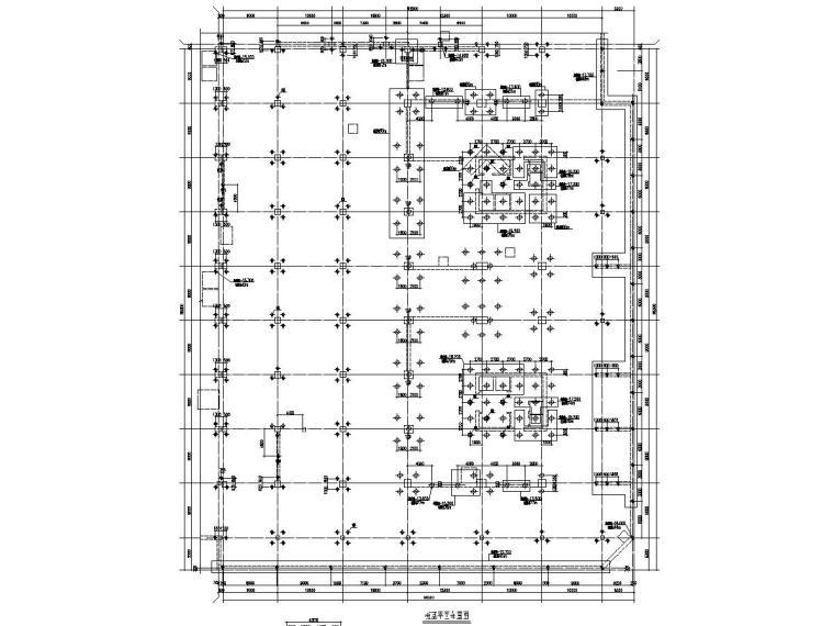 二层钢结构酒店施工图资料下载-32层希尔顿五星级酒店结构施工图