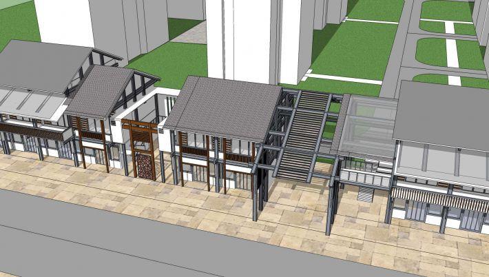 中式商业街方案设计
