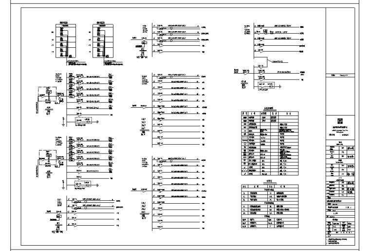 [浙江]中小企业创业园工业园区电气全套施工图(17年)