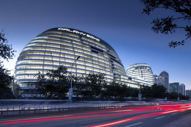 北京银河搜候-(-SOHO)中心地基与基础设计分析