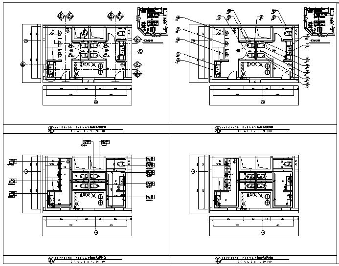 【四川】维尔酒店设计施工图(附效果图+物料表)_3