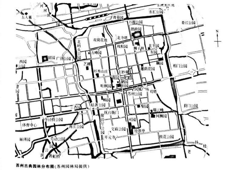 设计干货丨南方实习苏杭经典园林平面图