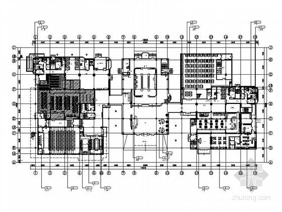 [北京]著名旅游网站公司办公室室内装修施工图(含效果图)