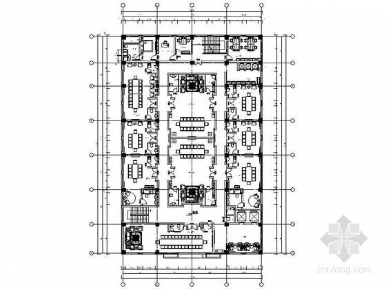 [北京]高档俄罗斯风格西餐厅装修施工图(含效果方案)