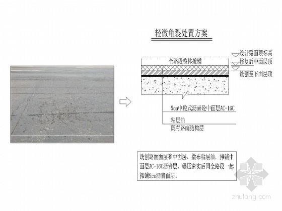 [四川]道路改造工程路基路面处治方案施工图设计17张