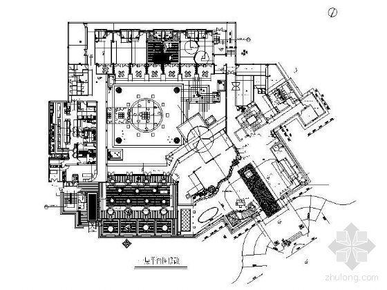 酒店一层平面设计图