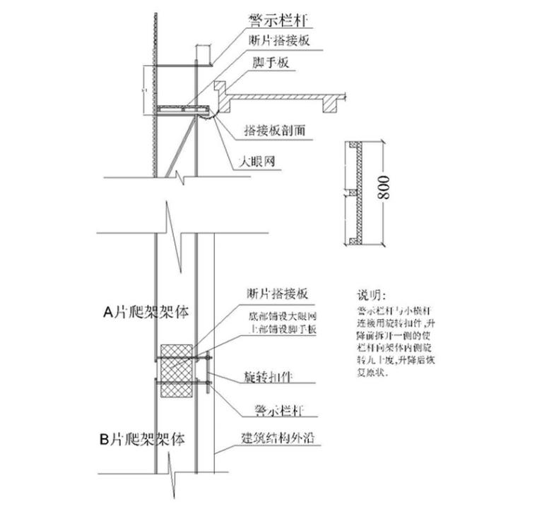 现浇剪力墙结构住宅楼工程附着升降脚手架安全专项施工方案(88页)