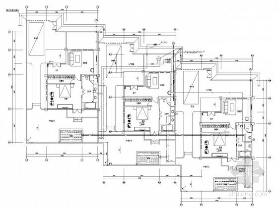 [四川]休闲区综合楼及别墅给排水消防施工图