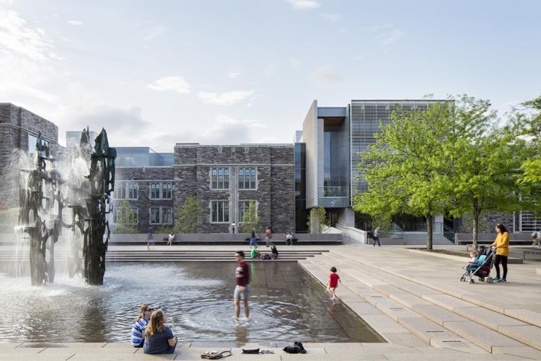 普林斯顿大学教学楼-4