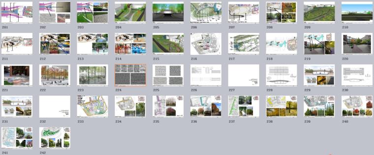 [上海]现代风格自然生态大学校园景观规划设计方案_10