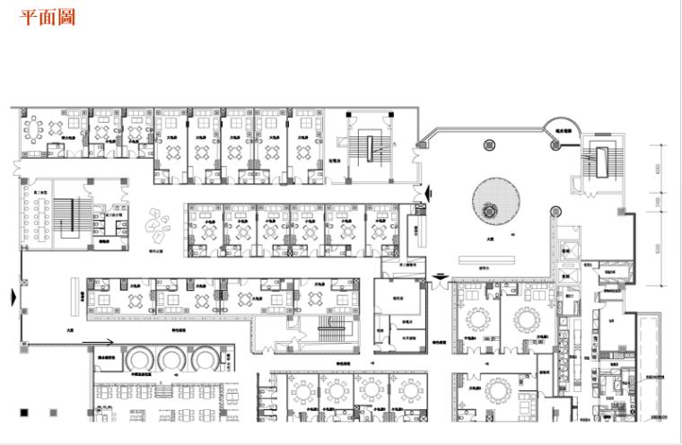华亿国际领域会所设计施工图(附效果图)