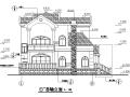 三层独立别墅施工图(含建筑、结构、给排水、电气)