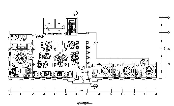 22套餐饮空间施工图+效果图(下)_1