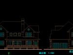 别墅方案建筑施工图
