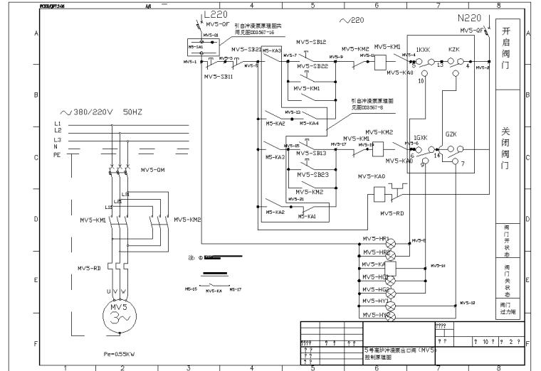 电动机原理图