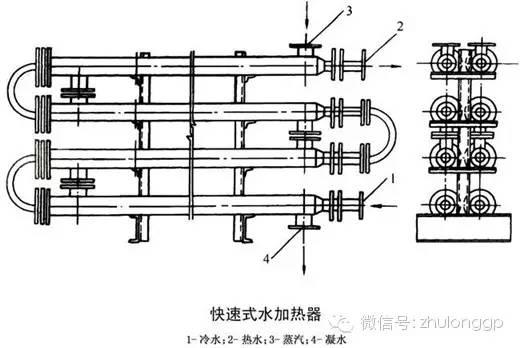 建筑热水供应系统图示_6
