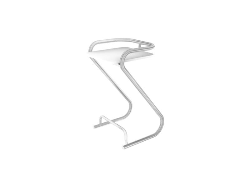 简单吧椅3D模型下载