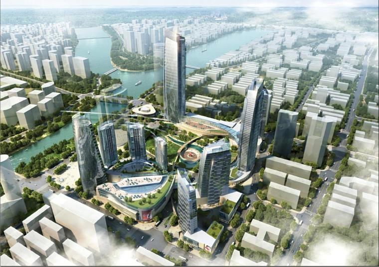 [浙江]超高层现代风格地标性SOHO建筑文本(国外知名事务所)
