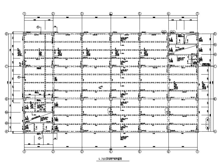 生物医药项目生产车间结构施工图2014