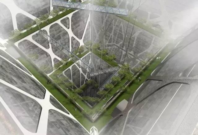 未来计划——挖掘地下景观建筑