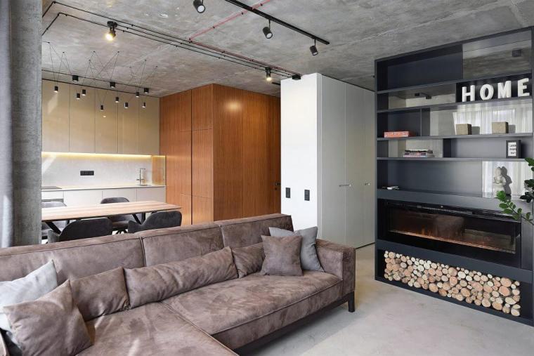乌克兰小空间的公寓
